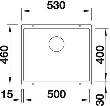 sp le silgranit blanco subline 500u im h fele schweiz shop. Black Bedroom Furniture Sets. Home Design Ideas