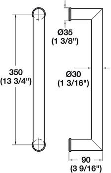 t rgriff edelstahl fsb modell 66 6669 03895 6204 im h fele schweiz shop. Black Bedroom Furniture Sets. Home Design Ideas