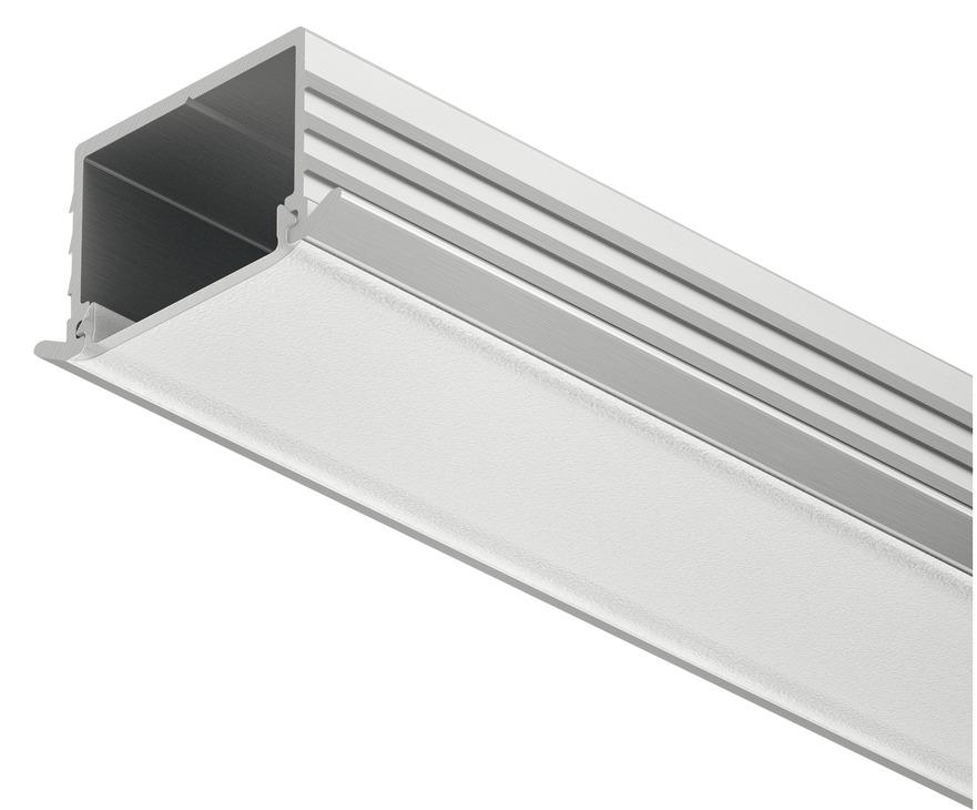 einbauprofil h fele loox 11 mm tiefe aluminium im. Black Bedroom Furniture Sets. Home Design Ideas