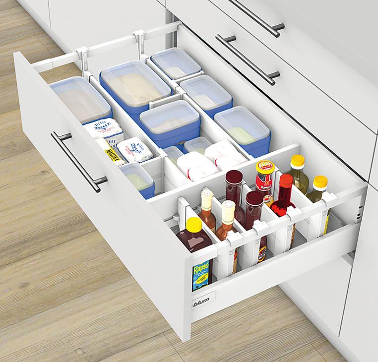 flaschenwanne blum orga line f r tandembox antaro im. Black Bedroom Furniture Sets. Home Design Ideas