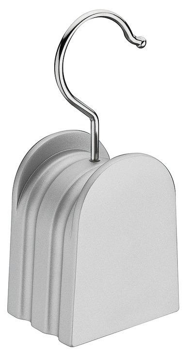 Handtaschenhalter Buche Silberfarben Haken Stahl Vernickelt Im