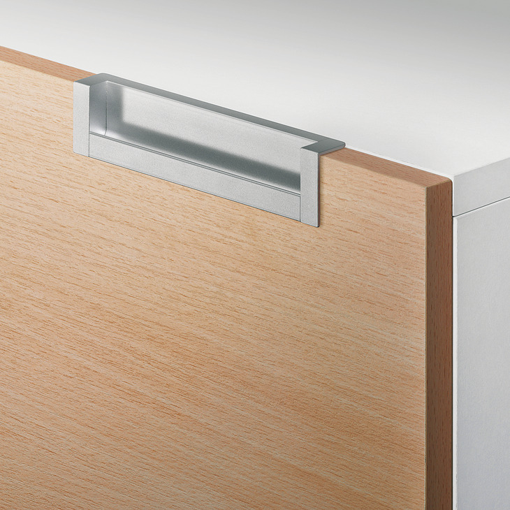 muschelgriff aus aluminium endkappen aus zinkdruckguss u form im h fele schweiz shop. Black Bedroom Furniture Sets. Home Design Ideas