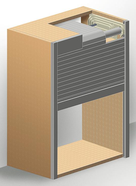 Rollladen a1 a2 oder a3 modul im h fele schweiz shop - Kit serrandina per mobili ...
