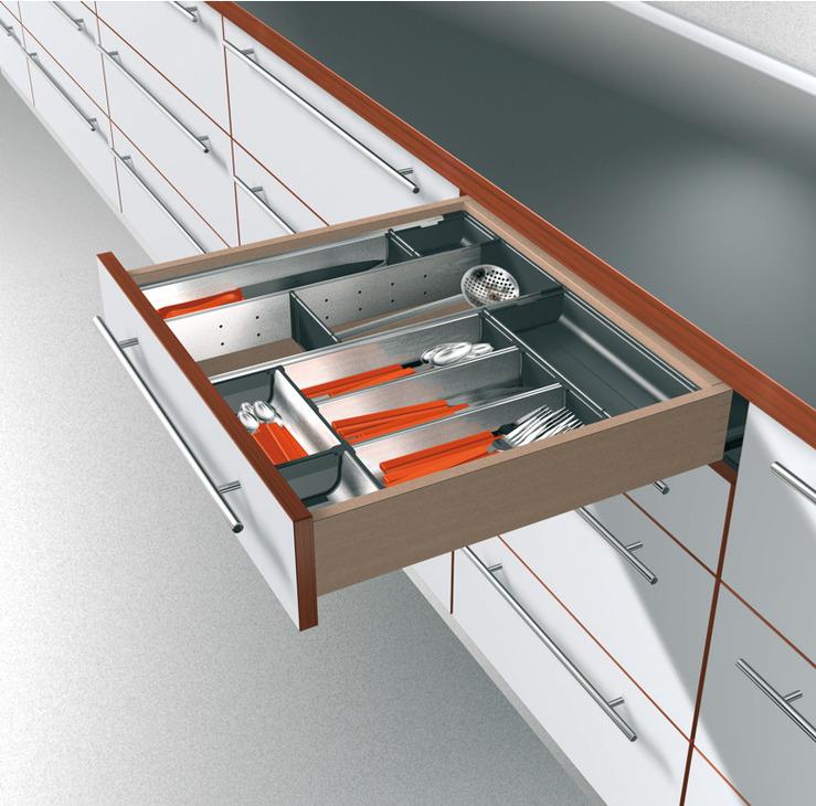 schubkasten einteilungssystem blum orga line im h fele schweiz shop. Black Bedroom Furniture Sets. Home Design Ideas