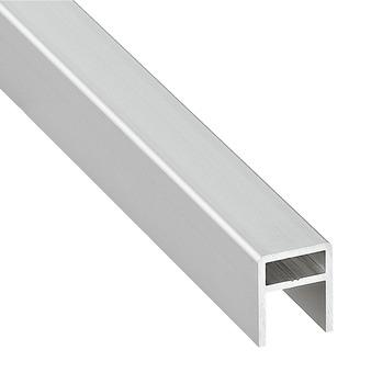 baguette de renforcement pour portes coulissantes de longueur 2500 mm en aluminium dans la. Black Bedroom Furniture Sets. Home Design Ideas