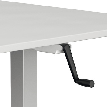 Piètements de tables, Officys TH211, avec réglage par manivelle