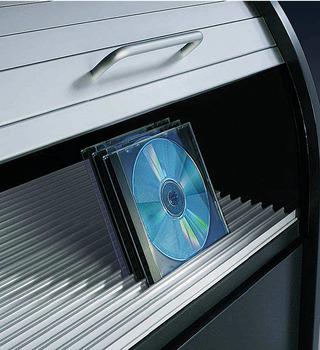 Systeme De Rangement Pour Cd Dvd Profil En Aluminium Couleur Argent Anodise Dans La Boutique Hafele Suisse
