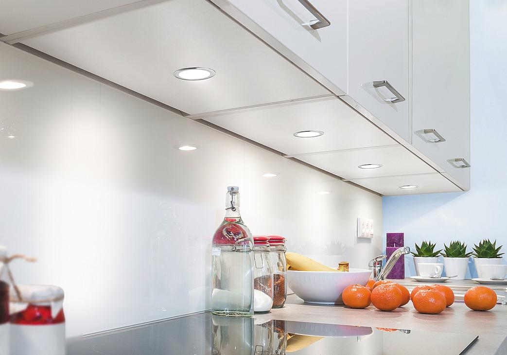 luminaire encastrer rond led 1064 aluminium 350 ma dans la boutique h fele suisse. Black Bedroom Furniture Sets. Home Design Ideas