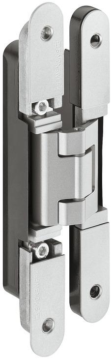 paumelle de porte simonswerk tectus te 240 3d n pose invisible pour portes recouvrement. Black Bedroom Furniture Sets. Home Design Ideas