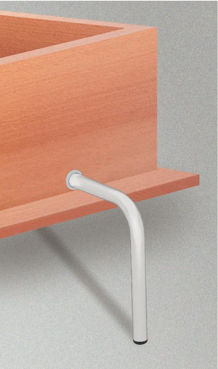 pied repliable pour ferrure pour lits escamotables bettlift montage longitudinal ou vertical. Black Bedroom Furniture Sets. Home Design Ideas