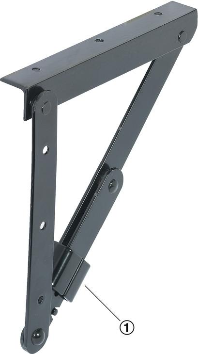 support équerre, rabattable, pour tables et bancs, ferrures de table pliante 5d25a2bbdd66